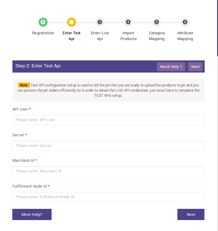 Test API